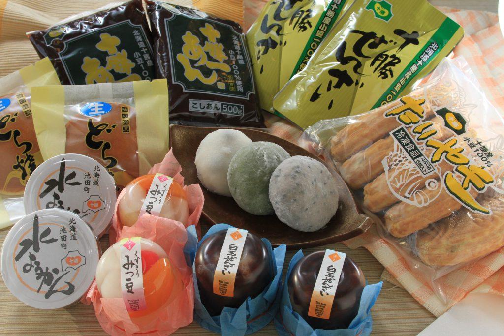 十勝産あずきの和菓子