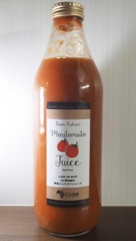 無塩ミニトマトジュース 1リットル 6本セット